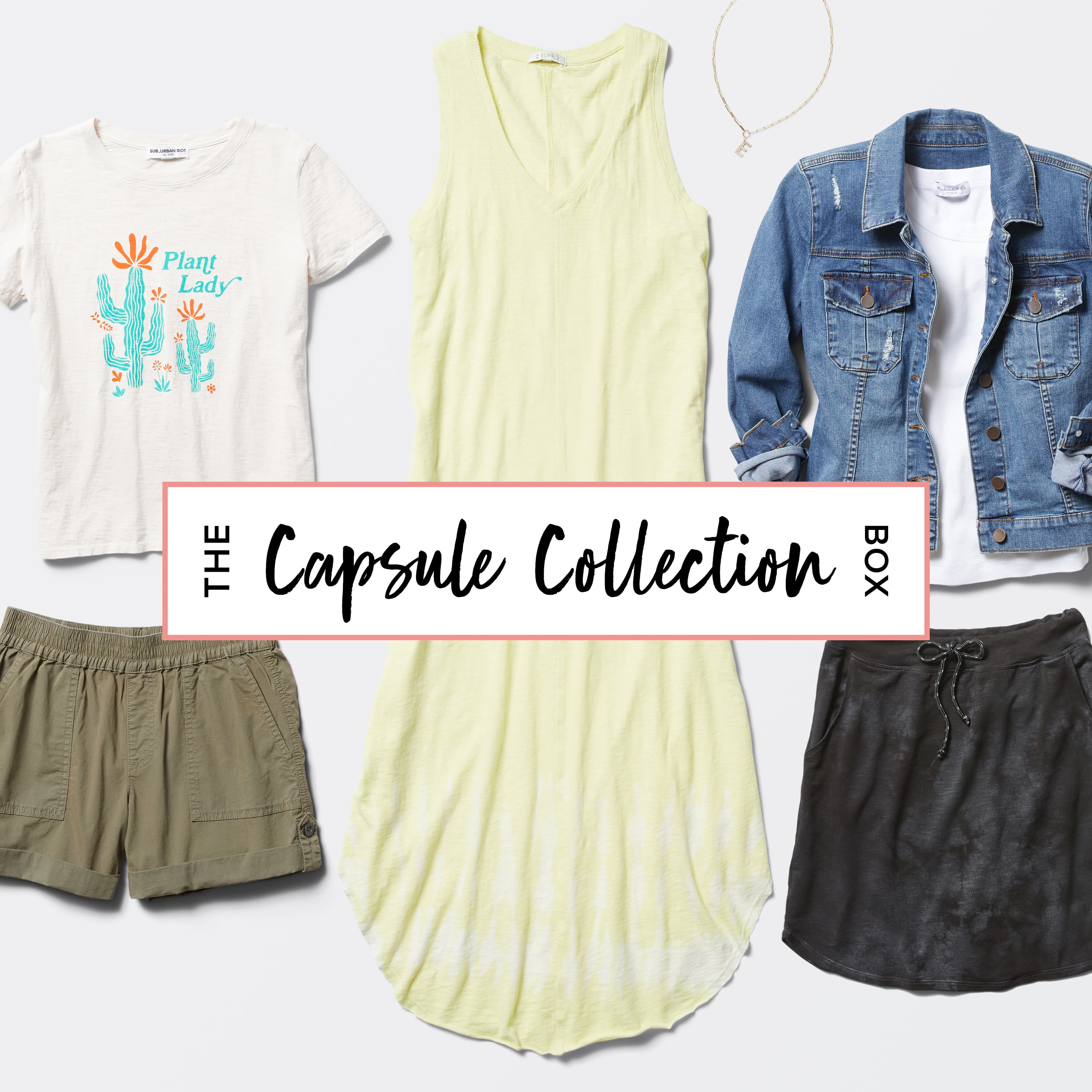The Capsule Collection Box